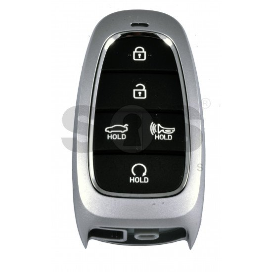 OEM Smart Key for Hyundai Sonata 2020+  Buttons:5/ Frequency:433MHz / Transponder:HITAG 3/NCF 29A1X/ Blade signature:HY22 / Part No: 95440-L1060/L1010 / Keyless Go / Automatic Start