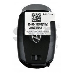 OEM Smart Key for Hyundai Santa FE 2020+ Buttons:3 / Frequency:433MHz / Transponder:NCF29A/HITAG 3/ Blade signature:HY22 / Part No:95440-S2200/ Keyless Go /