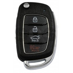 OEM Flip Key for Hyundai Sonata 2018 Buttons:3+1P / Frequency:433MHz  / Immobiliser System:Immobiliser Box / Part No:  95430-C1210
