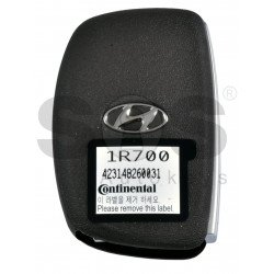 OEM Smart Key for Hyundai Accent 2015-2018 Buttons:3 / Frequency: 433MHz / Transponder: PCF7952/HITAG 2 / Blade signature:HY22 / Part No:95440-1R700/ Keyless Go
