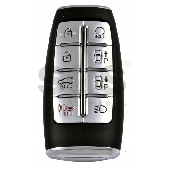 OEM Smart Key for Hyundai Genesis 2020-2021 Buttons:7+1P / Frequency:433MHz / Transponder:NCF29A/HITAG 3 /  Part No: 95440-T6011/T6010 / Keyless Go / AUTOMATIC START