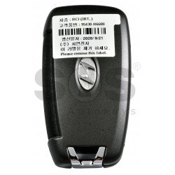 OEM Flip Key for Hyundai Accent 2018-2020  Buttons:3 / Frequency:433MHz / Transponder: No Transponder / Part No: 95430-H6600