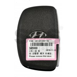 OEM Smart Key for Hyundai  I40 2014  Buttons:3+1P / Frequency: 433MHz / Transponder:  TIRIS 4D+ / Part No:  95440-3Z000