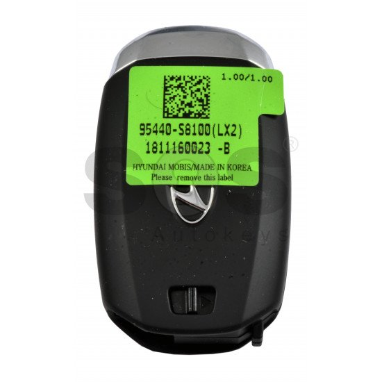 OEM Smart Key for Hyundai Palisade Buttons:3 / Frequency:433MHz / Transponder:NCF29A/HITAG 3/ Blade signature:HY22 / Part No:  95440-S8100/ Keyless Go