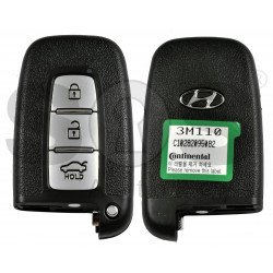 OEM Smart Key for HYUNDAI Genesis  2012 Buttons: 3 / Frequency:433MHz / Transponder:PCF 7952 / HITAG2 /   Part No:95440-3M110