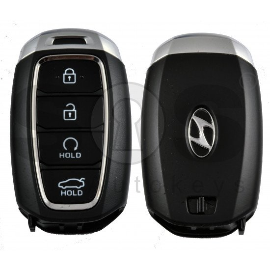 OEM Smart Key for Hyundai Accent 2018+ Buttons:4 / Frequency:433MHz / Transponder:TIRIS RF430 (8A)/ Blade signature:HY22 / Part No:95440-H6600/ Keyless Go / Automatic Start