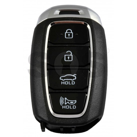 OEM Smart Key for Hyundai Elantra 2021+ Buttons:4 / Frequency:433MHz / Transponder: ATMEL AES/ Blade signature:HY22 / Part No:95440-AA100/ Keyless Go /
