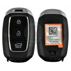OEM Smart Key for Hyundai Elantra 2021+ Buttons:3 / Frequency:433MHz / Transponder: ATMEL AES/ Blade signature:HY22 / Part No: 95440-AA300/ Keyless Go /