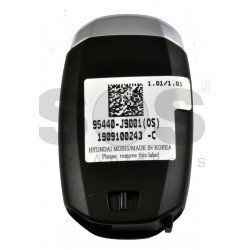 OEM Smart Key for Hyundai Kona 2020+ Buttons:4 / Frequency:433MHz / Transponder: NCF29A/HITAG 3 / Blade signature:HY22 / Part No:95440-J9001/ Keyless Go /