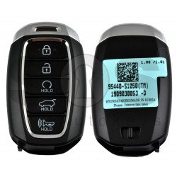 OEM Smart Key for Hyundai Santa Fe 2018+ Buttons:5 / Frequency:433MHz / Transponder: NCF29A/HITAG 3 / Blade signature:HY22 / Part No:95440-S1050/ Keyless Go / Automatic Start