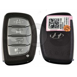 OEM Smart Key for Hyundai  2021+ Buttons:4 / Frequency: 433MHz / Transponder: ATMEL AES / Blade signature:HY22 / Part No: 95440-T7100/ Keyless Go