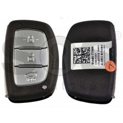 OEM Smart Key for Hyundai  2021+ Buttons:3 / Frequency: 433MHz / Transponder: ATMEL AES / Blade signature:HY22 / Part No: 95440-T7000/ Keyless Go