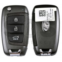 OEM Flip Key for Hyundai  Accent 2021+ Buttons:3 / Frequency:433 MHz / Transponder : Unknown / Blade signature: / Part No :   95430-H6700