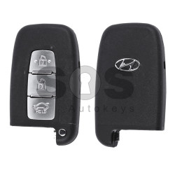 OEM Smart Key for Hyundai Buttons:3 / Frequency:433MHz / Transponder:PCF 7952 / Blade signature:HY22 / Part No: 95440-A6000 / 95440-1R510 / 95440-2T200