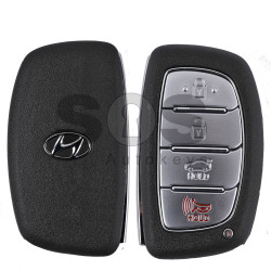OEM Smart Key for Hyundai I-40 Buttons:3+1 / Frequency:433MHz / Transponder:TIRIS DST AES/128-Bit / Blade signature:HY22 / Part No: 43314-C051619/ 95440-3Z001 / Keyless Go