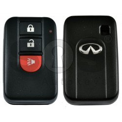 OEM Smart Key for Infiniti FX35 2003-2004 Buttons:2+1P / Frequency:434MHz / Transponder:HITAG2/4D60/7936 /  Part No:285E3-CG025