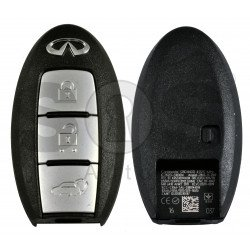 OEM Smart Key for Infiniti QX70 2012-2018 Buttons:3 / Frequency:434MHz / Transponder:PCF7952/HITAG 3 / Blade signature:NSN14 /FCC ID: KR5S180144014