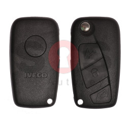 Flip Key for Iveco Buttons:3 / Frequency:434MHz / Transponder:Megamos Crypto/ ID48 / Blade signature:SIP22
