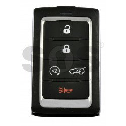 OEM Smart key for Jeep Wagoneer 2021+ Buttons:4+1P / Frequency: 433MHz / Transponder: NCF29A/HITAG AES /  ( Automatic Start )