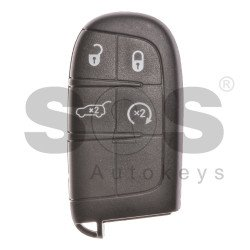OEM Smart key for Jeep Buttons:4 / Frequency: 433MHz / Transponder: PCF 7945/ 7953/ HITAG2 / Blade signature: CY24/ SIP22 ( Automatic Start )
