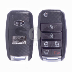 OEM Flip Key for Kia Buttons:5+1 / Frequency:433MHz / Transponder:4D60 80-Bit / Blade signature:HY22 / Part No:95430-A9300
