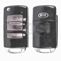 OEM Flip Key for KIA Buttons:3 / Frequency:433MHz / Transponder:PCF 7936/ ID46/ HITAG 2 / Blade signature:HY22