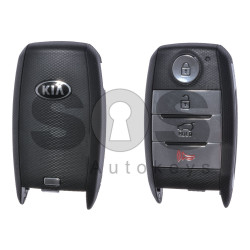 OEM Smart Key for KIA NIRO Buttons: 3+1 / Friquency:433MHz / Transponder:HITAG3128-bit AES/ ID 47 / Blade signature: HY22 / Part No:95440-G5000 / Keyless GO