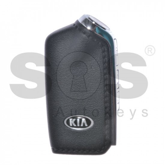 OEM Smart Key for Kia Stinger GT  Buttons:4 / Transponder:HITAG 128-Bit AES / Frequency:433MHz / Part No:95440 J55300 ( Automatic Start )