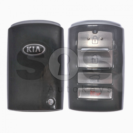OEM Smart Key for KIA Buttons: 3+1 / Frequency:433MHz / Transponder:HITAG3/128-Bit AES/ID47 / Part No:95440-F6000 / Keyless GO
