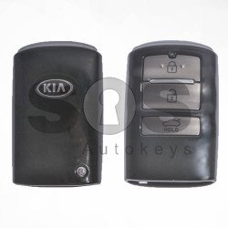 OEM Smart Key for KIA Buttons:3 / Frequency:433MHz / Transponder:HITAG3/128-Bit AES/ID47 / Part No:95440-F6100 / Keyless GO