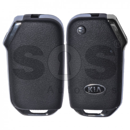 OEM Flip Key for Kia Buttons:3 / Frequency:433MHz / Transponder: Texas Crypto 128-bit AES / Blade signature:HY22 / Part No: 95430-D9420