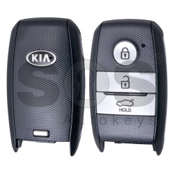 OEM Smart Key for KIA Cherato Buttons:3 / Frequency: 434MHz / Transponder: Texas Crypto 128-bit/ AES / Blade signature: HY22 / Part No: 95440-A7100 / Keyless GO