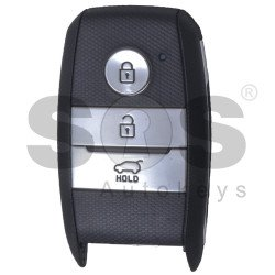 OEM  Smart Key for KIA Optima 2016-2017 Buttons:3 / Frequency: 433MHz / Transponder: HITAG 3/ NCF2951X / NCF2952X / Blade signature: HY22 / Part No: 95440-D4100 / Keyless GO