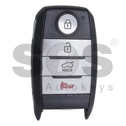 OEM Smart Key for KIA Sorento Buttons: 3+1 / Friquency: 433MHz / Transponder:HITAG3/ 128-bit AES/ ID47 / Blade signature: HY22 / Part No:95440-C5000 / Keyless GO