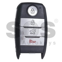 OEM Smart Key for KIA Sportage Buttons: 3+1 / Friquency: 433MHz / Transponder:HITAG3/ 128-bit AES/ ID47 / Blade signature: HY22 / Part No:95440-D9000 / Keyless GO