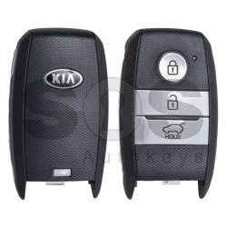 OEM Smart Key for KIA Rio / Stonic 2017+ Buttons: 3 / Friquency: 433MHz / Transponder: Texas Crypto/ 128-bit AES / Blade signature: HY22 / Part No:95440-H8100 / Keyless GO