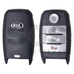 OEM Smart Key for KIA Sportage 2019+ Buttons: 3+1 / Friquency: 433MHz / Transponder: HITAG3/ 128-bit AES/ ID47 / Blade signature: HY22 / Part No:95440-D9500 / Keyless GO