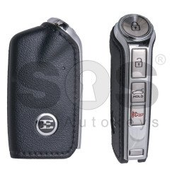 OEM Smart Key for Kia Stinger 2017+ Buttons:3+1 / Frequency:433MHz / Transponder: HITAG3/128-Bit AES/ID47 / Part No: 95440-J5200 / Keyless Go
