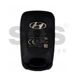 OEM Flip Key for KIA I30 Buttons:3 / Frequency:433MHz / Transponder: 4D60 80Bit / Blade signature:HY22 / Part No 95430-A5100 / 95430-2T600 / 95430-2T601