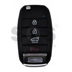 OEM Flip Key for Kia Stonic Buttons:3+1p. / Frequency:433MHz / Transponder: 80-Bit/ID6D / Blade signature:HY22 /Part No. : 95430-H8500/ Immobiliser System: Immobiliser Box