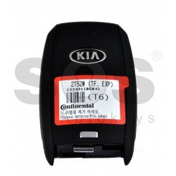 OEM Smart Key for KIA Optima2014+ Buttons:3 / Frequency: 433MHz / Transponder: HITAG 2/ ID 46/ PCF7952 / Blade signature: HY22 / Part No: 95440-2T520 / Keyless GO