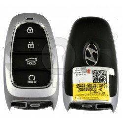 OEM Smart Key for Hyundai  Azera 2020+ Buttons:4 / Frequency:433MHz / Transponder:HITAG 3/NCF 2951X/ NCF2952X/ Blade signature:HY22 / Part No: 95440-G81204X / Keyless Go / Automatic Start