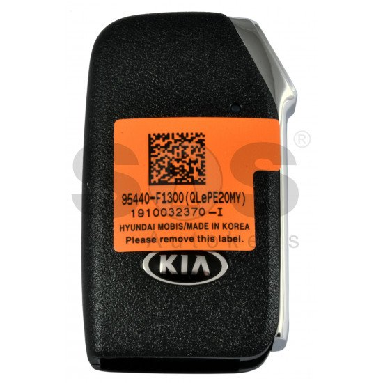 OEM Smart Key for Kia Sportage 2019+ Buttons:3 / Frequency:433MHz / Transponder: NCF 2951 HITAG3 /  Part No: 95440-F1300 / Keyless Go