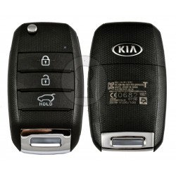 OEM Flip Key for KIA Picanto 2017+ Buttons:3 / Frequency:433 MHz / Transponder: Tiris DST 80  /  Part No:95430-G6600