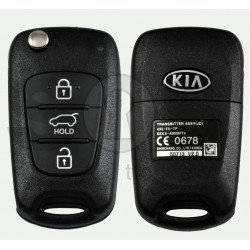 OEM Flip Key for KIA CEED 2012-2013 Buttons:3 / Frequency:433MHz / Transponder: 4D60 80Bit / Blade signature:HY22 / Part No 95430-A2001 / AM08FTX