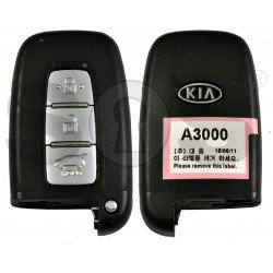 OEM Smart Key for KIA Buttons:3 / Frequency:433MHz / Transponder:Texas Crypto 128 Bit AES / Blade signature:HY22 / Part No:95440-A3000