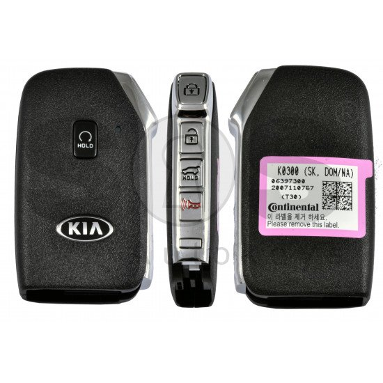 OEM Smart Key for Kia SOUL 2020+  Buttons: 4+1P / Frequency:433MHz / Transponder: NCF 29A1X HITAG3 /  Part No: 95440-K0300/ Keyless Go