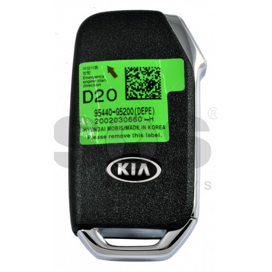 OEM Smart Key for Kia NIRO 2020+  Buttons: 3 / Frequency:433MHz / Transponder: NCF 29A1X HITAG3 /  Part No: 95400-G5200 /  Keyless Go /