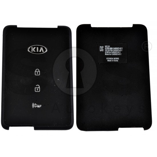 OEM Smart Card for Kia K900  Buttons: 3 / Frequency:433MHz / Transponder: NCF 29A1X HITAG3 /  Part No: 95440-J6000 / Keyless Go /