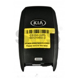 OEM Smart Key for KIA 2019+ Buttons: 3 / Friquency: 433MHz / Transponder:NCF295X/HITAG 3 / Blade signature: HY22 / Part No: 95440-C5150 / Keyless GO